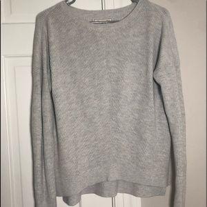 heather grey sweater